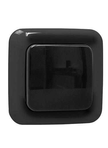 Smartwares Akıllı Ev Dış Mekan KablosuzDuvar Anahtarı Siyah-Sinyal İletici Renkli